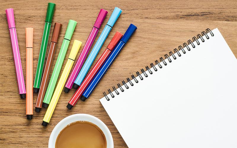 手帳と一緒にカラーペンを大量に持ち歩きたい時の便利アイテム5選 絵師